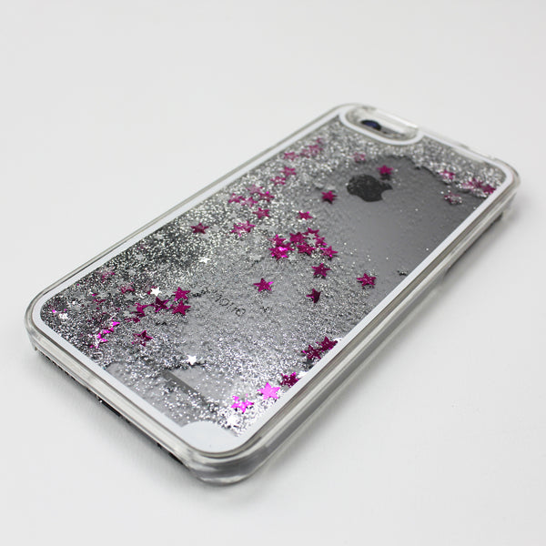 Silver Liquid Waterfall iPhone Case - By Dominic  - 1