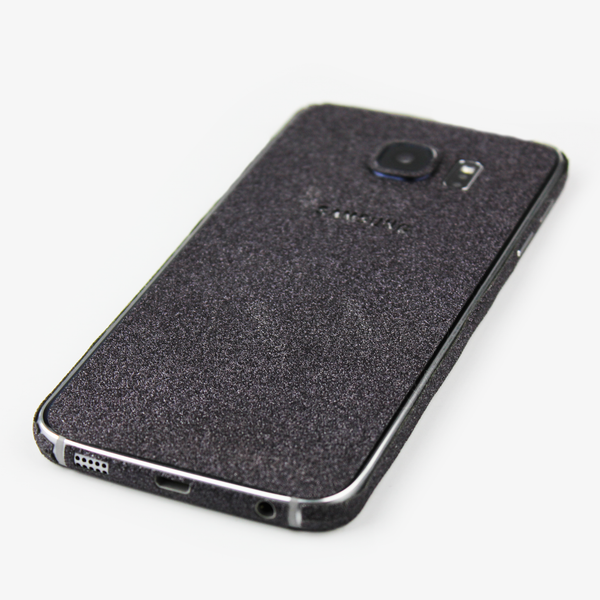 Black Glitter Samsung Decal - By Dominic  - 3