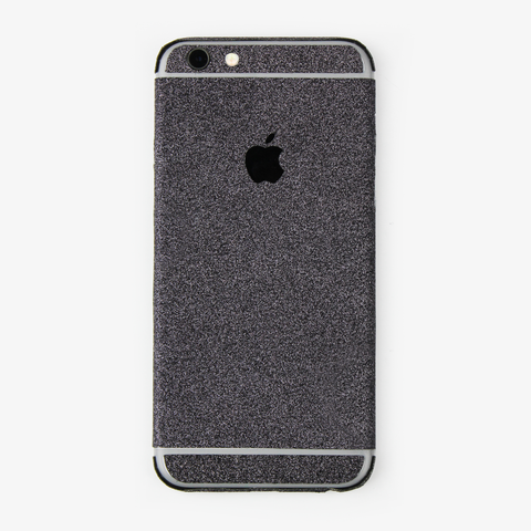 Black Glitter iPhone Decal - By Dominic  - 1