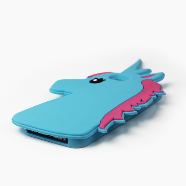 Blue Unicorn iPhone Case - By Dominic  - 3