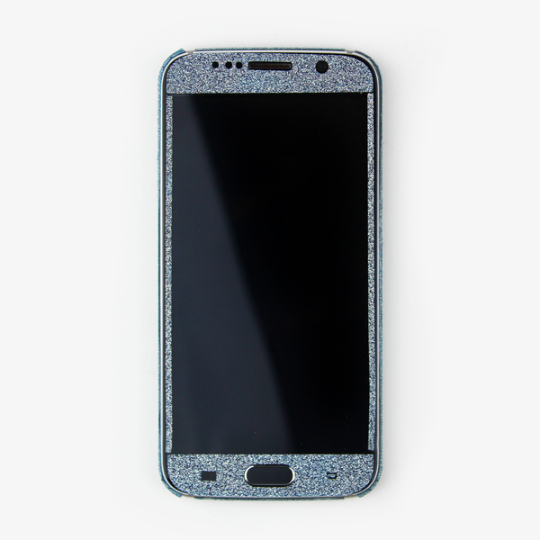 Blue Glitter Samsung Decal - By Dominic  - 3