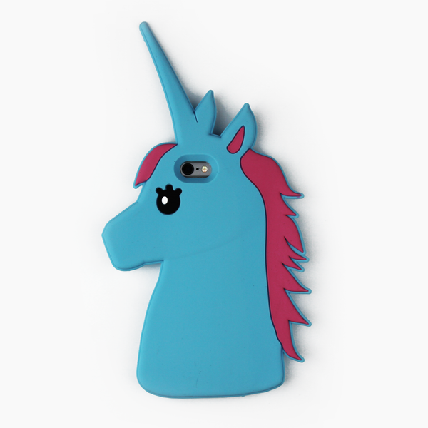 Blue Unicorn iPhone Case - By Dominic  - 1