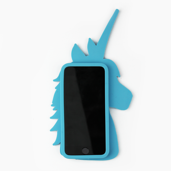 Blue Unicorn iPhone Case - By Dominic  - 2