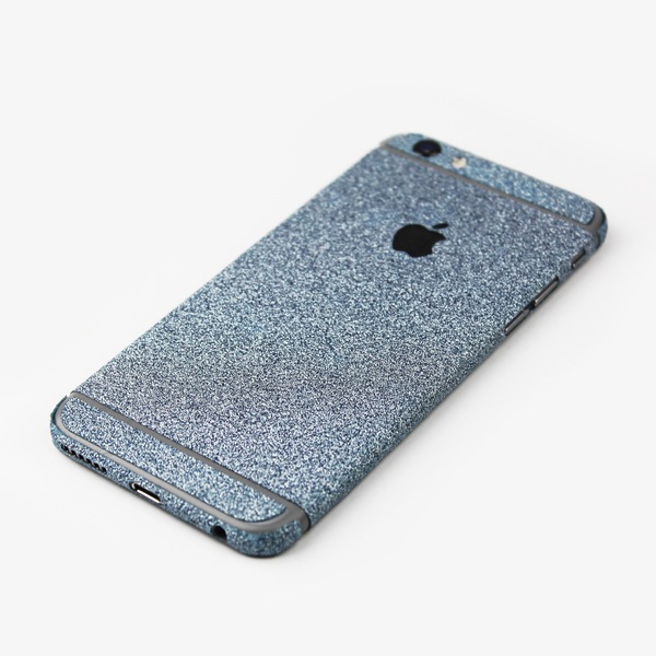 Blue Glitter iPhone Decal - By Dominic  - 2