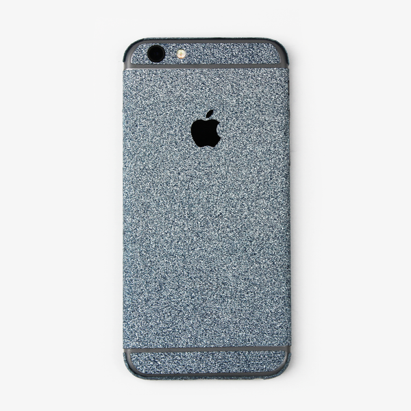 Blue Glitter iPhone Decal - By Dominic  - 1