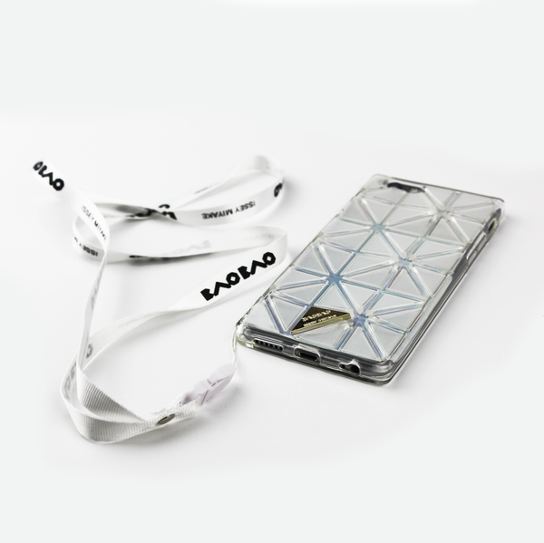 Clear Geometric Holographic iPhone Case - By Dominic  - 4