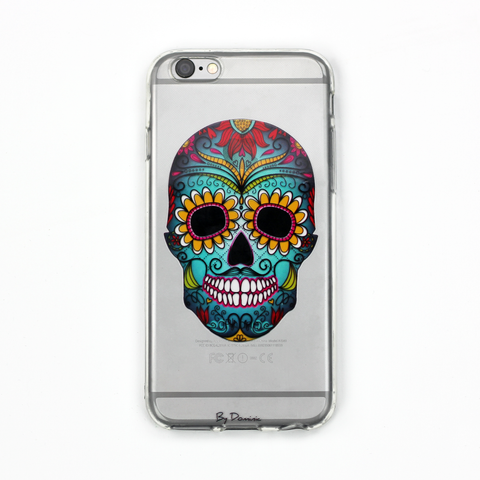 Day of the Dead Clear Case - By Dominic  - 1
