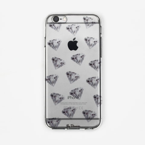 Diamonds on Diamonds Clear Case - By Dominic  - 1