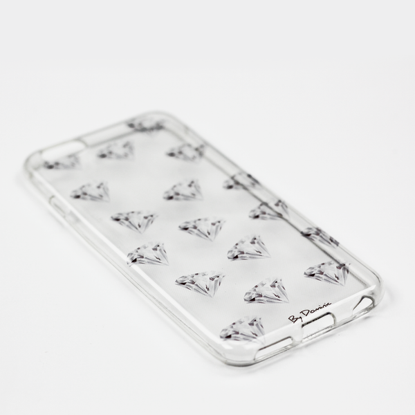 Diamonds on Diamonds Clear Case - By Dominic  - 3