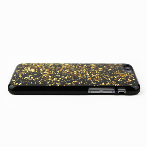 Gold Floating Black Flake Case - By Dominic  - 4
