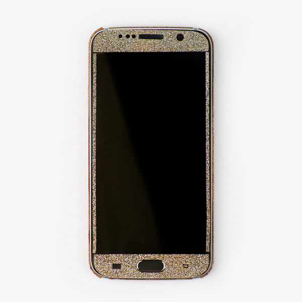 Gold Glitter Samsung Decal - By Dominic  - 3