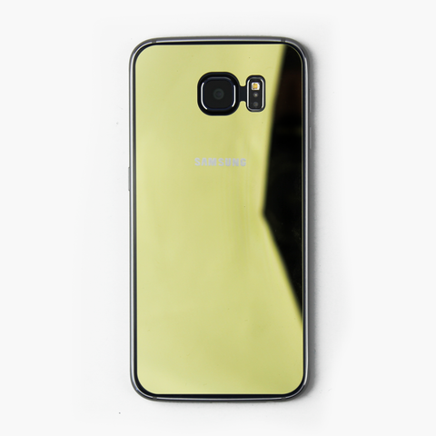 Gold Tempered Glass Samsung Protective - By Dominic  - 1