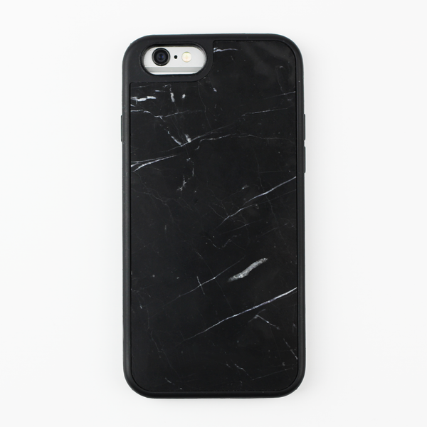 Black Natural Marble Case - By Dominic  - 1
