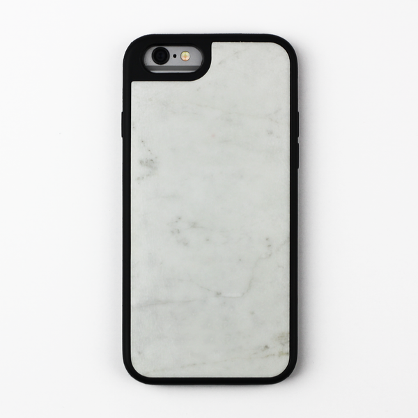 White Natural Marble Case - By Dominic  - 1