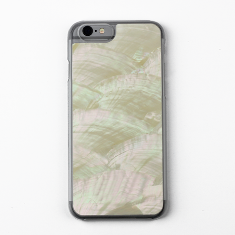 White Natural Abalone Shell Case - By Dominic  - 1