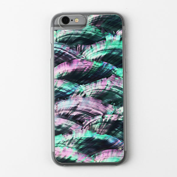 Colorful Natural Abalone Shell Case - By Dominic  - 1