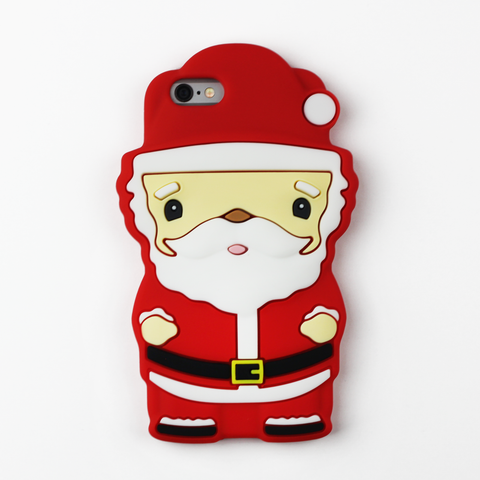 Large Santa Christmas iPhone Case - By Dominic  - 1