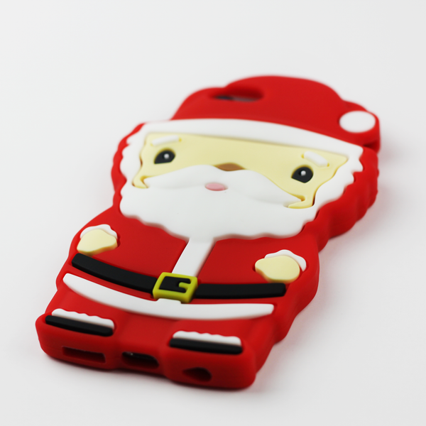Large Santa Christmas iPhone Case - By Dominic  - 2