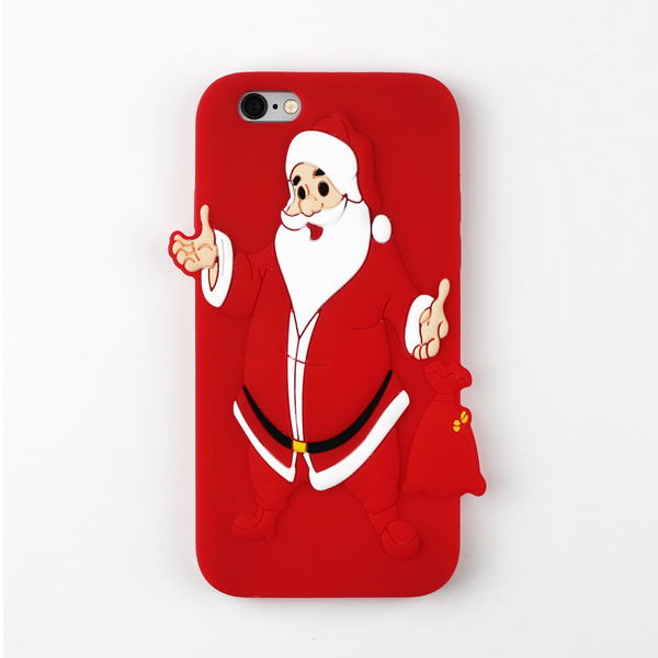 Happy Santa Christmas iPhone Case - By Dominic  - 1