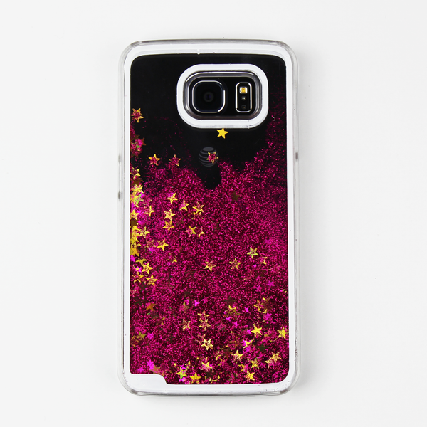 Pink Liquid Waterfall Samsung Case - By Dominic  - 1