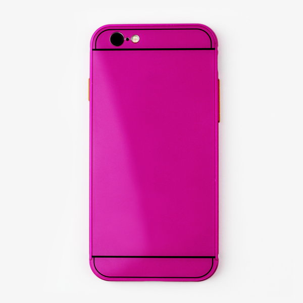 Pink and Gold Metal Transformer Case - By Dominic  - 1