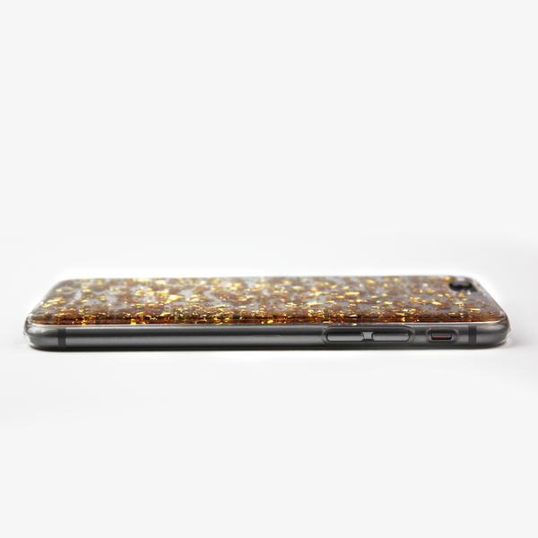 Gold Floating Flake Case - By Dominic  - 4
