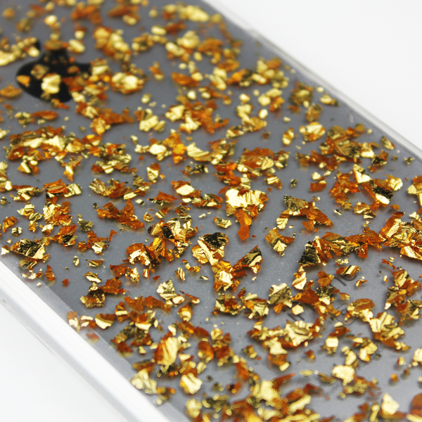 Gold Floating Flake Case - By Dominic  - 3