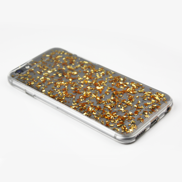 Gold Floating Flake Case - By Dominic  - 2