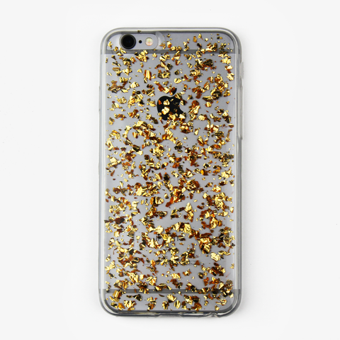 Gold Floating Flake Case - By Dominic  - 1