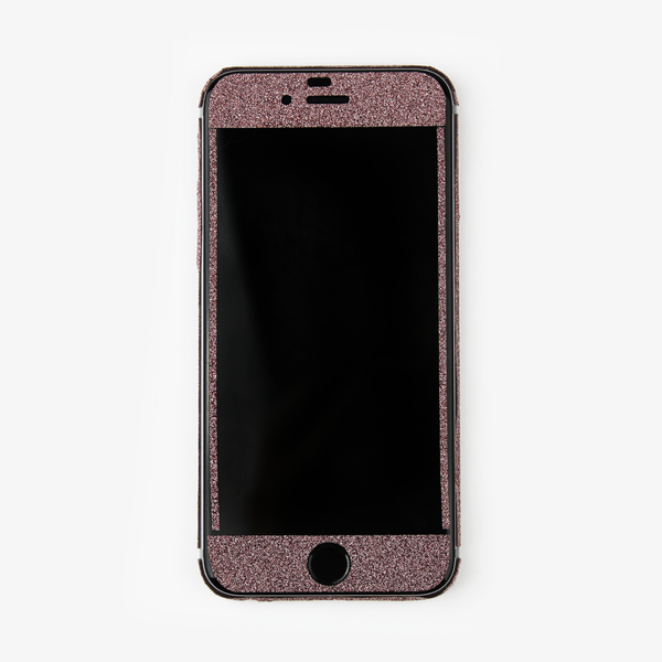 Pink Glitter iPhone Decal - By Dominic  - 3