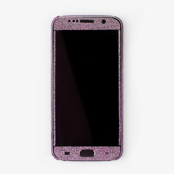 Pink Glitter Samsung Decal - By Dominic  - 2