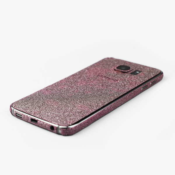 Pink Glitter Samsung Decal - By Dominic  - 3