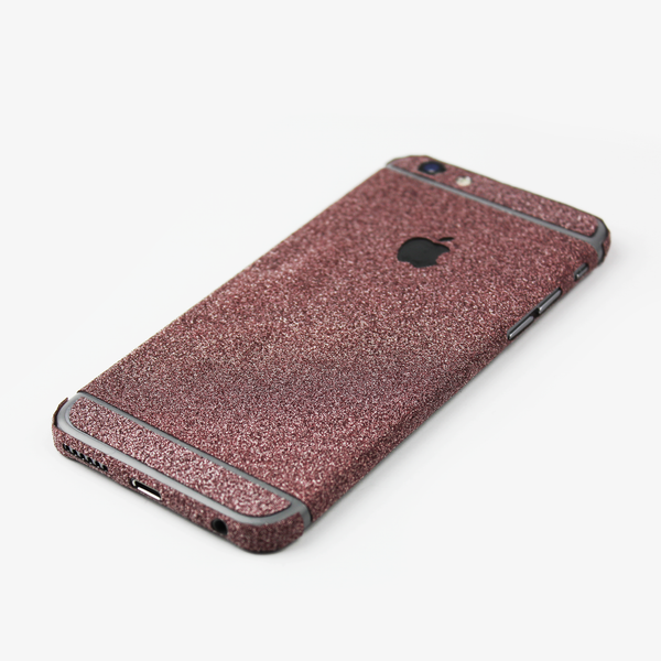 Pink Glitter iPhone Decal - By Dominic  - 2