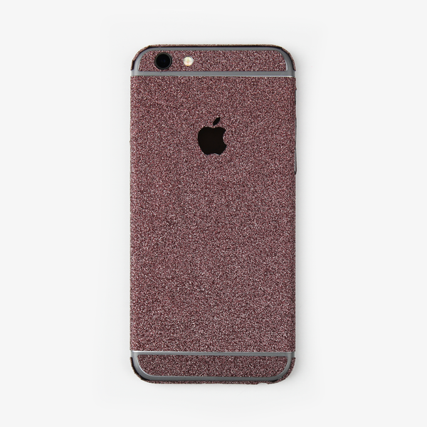 Pink Glitter iPhone Decal - By Dominic  - 1