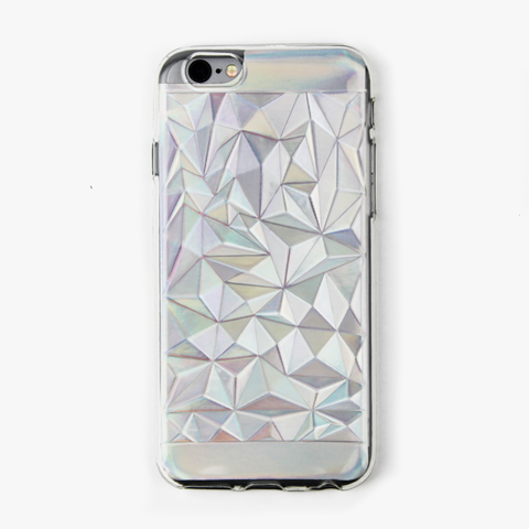 Clear Prismatic Holographic iPhone Case - By Dominic  - 1