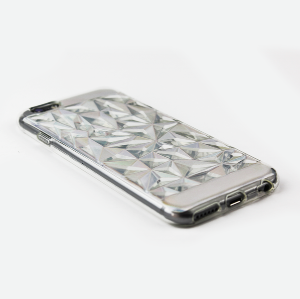 Clear Prismatic Holographic iPhone Case - By Dominic  - 2