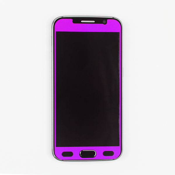 Purple Tempered Glass Samsung Protective - By Dominic  - 4