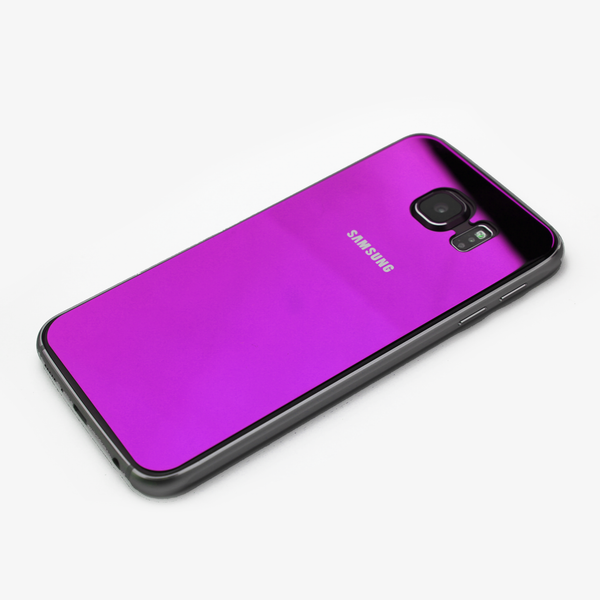 Purple Tempered Glass Samsung Protective - By Dominic  - 2
