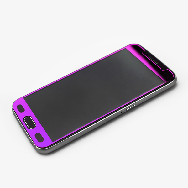 Purple Tempered Glass Samsung Protective - By Dominic  - 3