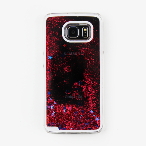 Red Liquid Waterfall Samsung Case - By Dominic  - 1