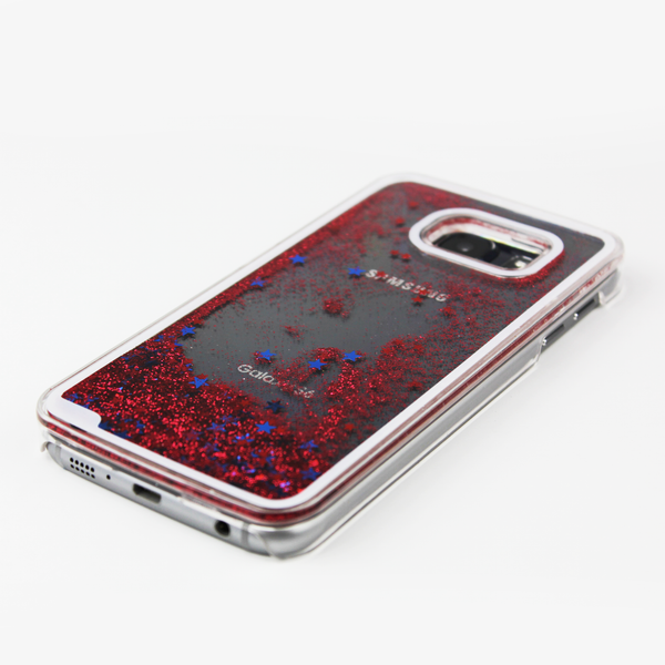 Red Liquid Waterfall Samsung Case - By Dominic  - 2