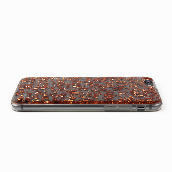 Rose Gold Floating Flake Case - By Dominic  - 4