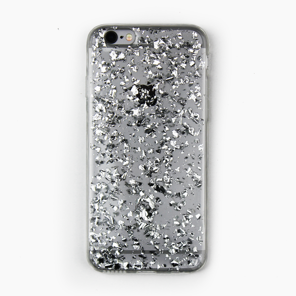 Silver Floating Flake Case - By Dominic  - 1