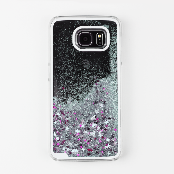 Silver Liquid Waterfall Samsung Case - By Dominic