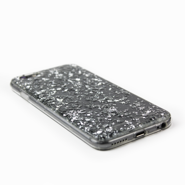 Silver Floating Flake Case - By Dominic  - 2
