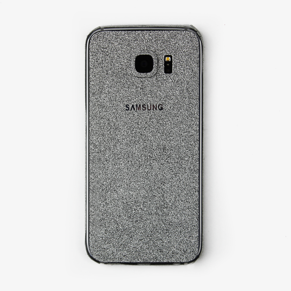 Silver Glitter Samsung Decal - By Dominic  - 1