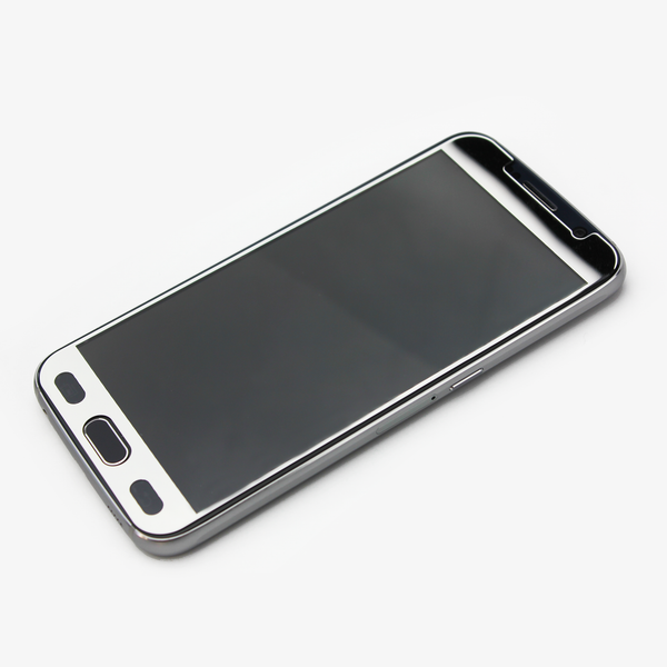 Silver Tempered Glass Samsung Protective - By Dominic  - 3
