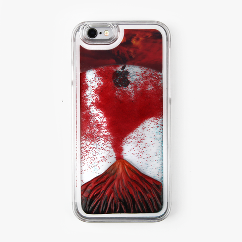 Volcano Liquid iPhone Case - By Dominic  - 1