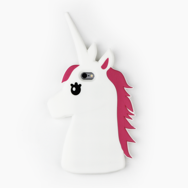 White Unicorn iPhone Case - By Dominic  - 1