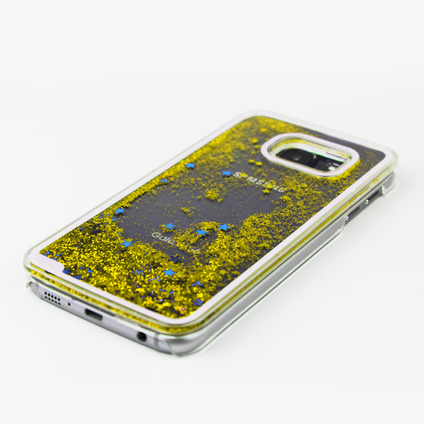 Gold Liquid Waterfall Samsung Case - By Dominic  - 2